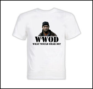 What Would Omar Do The Wire T Shirt | eBay