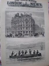 National Liberal Club Charing Cross London & natives York Island New Guinea 1883