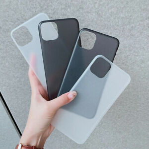 For iPhone 12 Pro Max Ultra Thin Case Slim 0.3mm Matte Hard Back Cover Skin