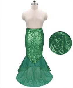 471446013707 Image is loading Sexy-Mermaid-Women-Halloween-Costume-Sequin-Fancy-Party-