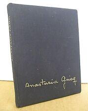 Anastasia Grieg los Ojos de Una Vida with Blanc Garduno 1988 Limited Edition
