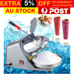 Electric Ice Crusher Shaver Commercial Machine Snow Cone
