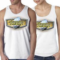 Steeler Nation Tank Top White S M L Xl 2x Men's Ladies' Women's Pittsburgh