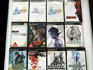 Whole-sale-PlayStasion2-Lot-of-12-fron-JAPAN-PS2-RPG-Shooting-set-NTSC-J-Japan
