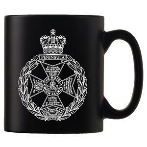 Royal-Green-Jackets-RGJ-Personalised-Black-Satin-Mug
