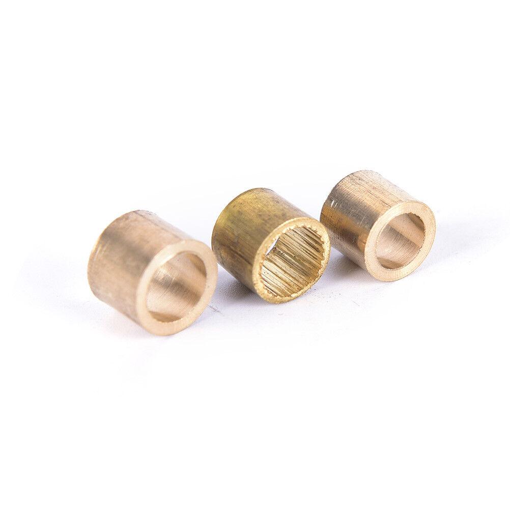 10x Billiards Snooker Brass Ferrule Snooker Pool Cue Ferrule Cue Repair Tool^vSP