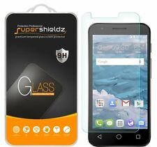 3X Supershieldz Tempered Glass Screen Protector Saver For Alcatel Streak