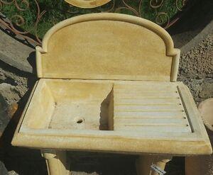 Lavabo Esterno Moderno : Lavello lavandino lavabo in cemento pietra marmo esterno moderno