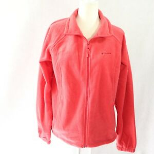 Full Euc Jacket Zip Xl Fleece Sweater Størrelse Coral Orange Columbia Dame 8wxOCqO