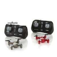Propel Atom Indoor/outdoor Micro Drone 2-pack Red & Silver