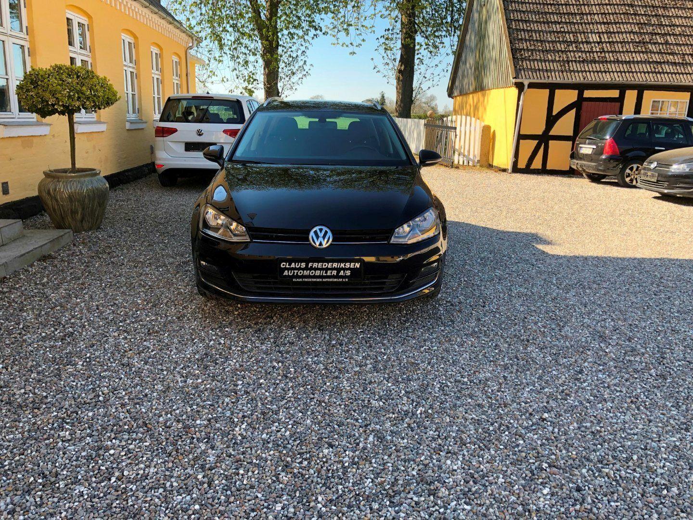 VW Golf VII 2,0 TDi 150 Highl. Variant DSG BMT 5d - 199.900 kr.