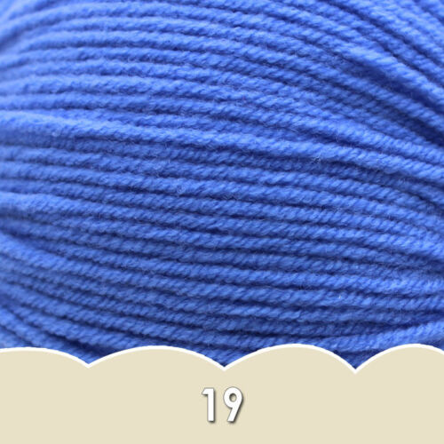 Sale 1 ball x 50g CHUNKY Hand Knitting Quick Yarn Soft 4ply Combed milk cotton