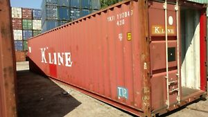 Shipping Containers For Sale Ebay >> Details About 40ft Standard Shipping Container Conex Box Storage Chicago Grade A B C