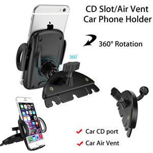 Universal-CD-Slot-Phone-Mount-Holder-360-Degree-Rotation-For-Mobile-Phone-GPS