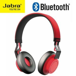 Wireless-Headphones-JABRA-MOVE-Bluetooth-Stereo-Headset-for-iPhone-Samsung-RED