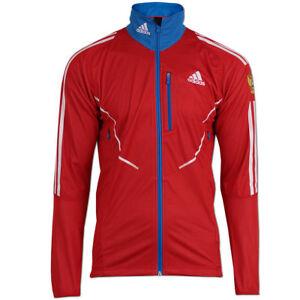 Details zu adidas Herren Gore Athleten Jacke Outdoor Russia Biathlon Running Wintersport