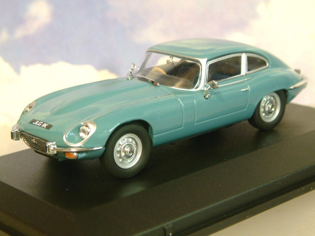 Oxford 1 43 1971-1975 Jaguar V12 E-Typ Serie 3 III III III Coupe Hellblau Jagv12001  | Günstig  9e7a66