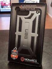IPHONE 7 PLUS - UAG Urban Armor Gear MONARCH SERIES - PLATINUM / BLACK - NEW