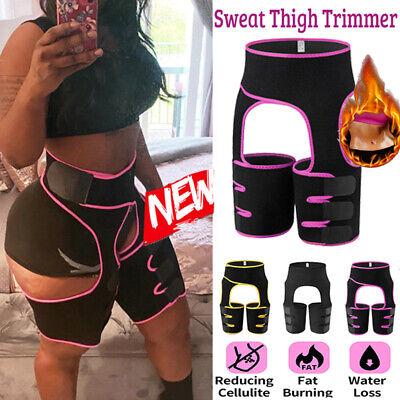 3-in-1 Waist Trimmer Sauna Sweat Booty Hip Rise Enhancer Butt Lifter Body Shaper