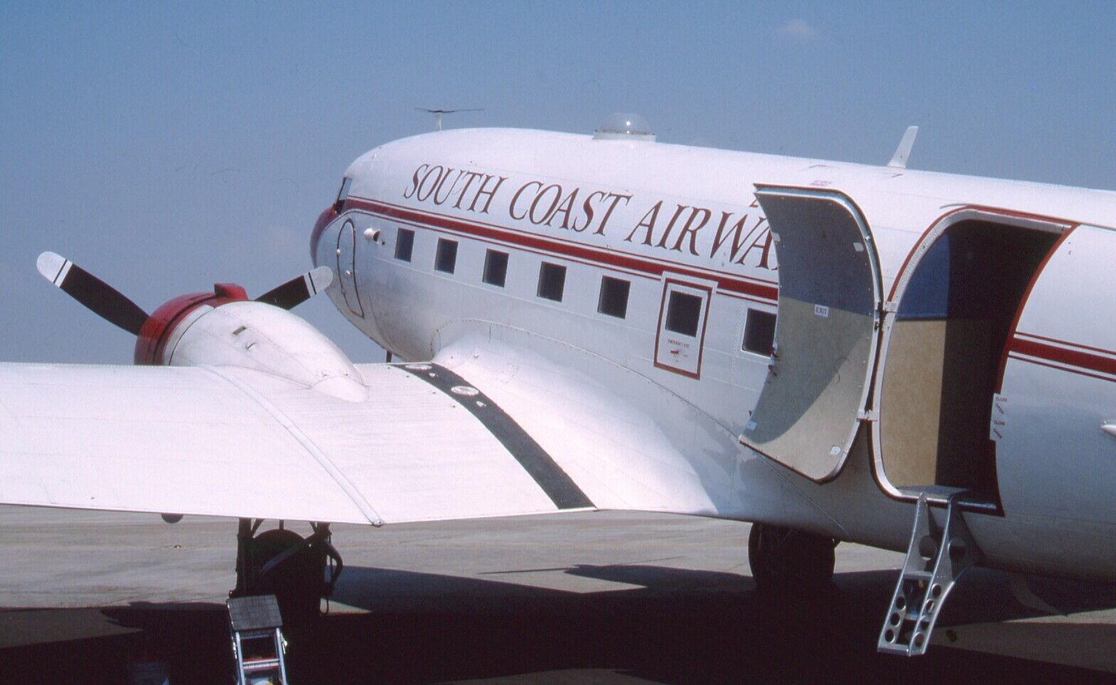 Original 35mm Aircraft slide  Douglas C-47A Skytrain #41