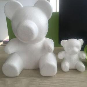 HOT Polystyrene Styrofoam Foam Bear Modelling For DIY Valentine Party Decor Wort