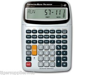 Calculated-Industries-Construction-Master-Pro-Desktop-44080-Calculator-New