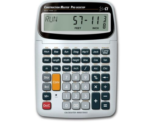 Calculated Industries Construction Master Pro Desktop 44080 Calculator New