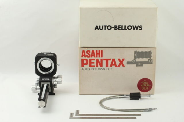 【MINT in Box】Asahi Pentax Auto Bellows Set Scale Release for 35mm SLR from Japan