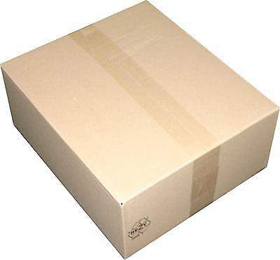 30 St Faltkarton 330x330x155 mm 1-welliger Karton Versandkarton Faltkartons