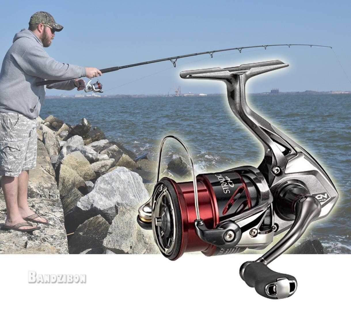 Shimano Stradic Ci4+ 1000 HGFB Spinning Reel Light Lake Sea Fishing Boat Hagane