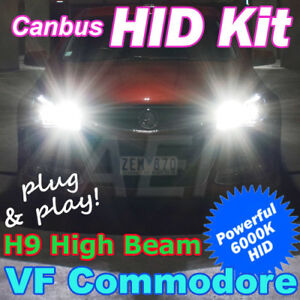 Holden-VF-Commodore-High-Beam-CANBUS-H9-55W-6000K-Xenon-HID-Kit-SS-SSV-SV6-HSV