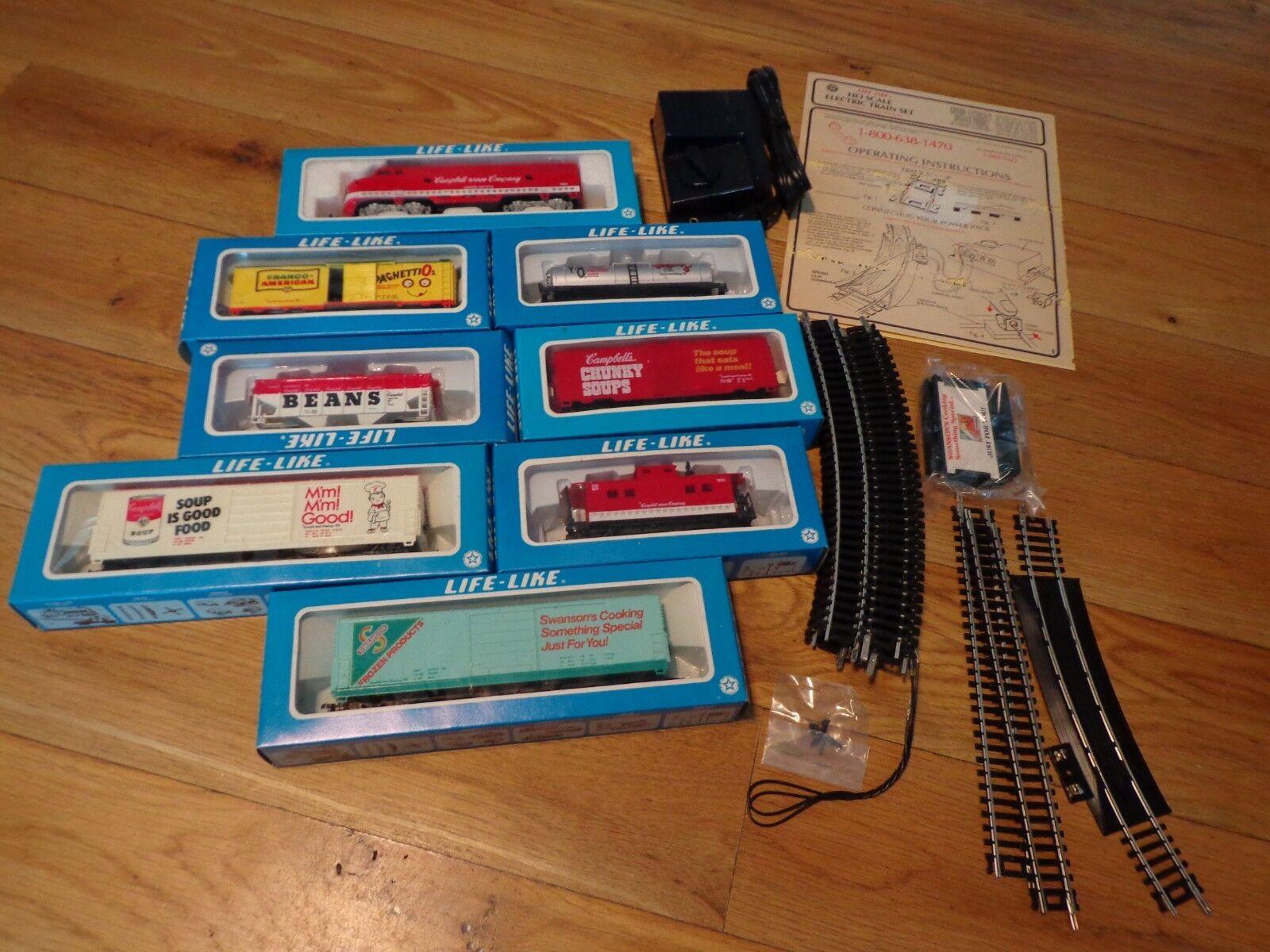 Vintage Life Like Train Set NIB