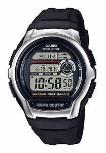 Casio-WV-M60-1A-Orologio-Radiocontrollato-Crono-Luce-Sveglia-Fuso-Orario-Timer