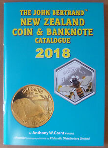 NEW-ZEALAND-2018-COIN-amp-BANKNOTE-039-BERTRAND-039-CATALOGUE-by-Anthony-W-Grant-NEW
