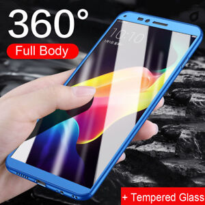 360-Full-Cover-Hybrid-Shockproof-Case-9H-Tempered-Glass-For-OPPO-R11-A59-A57-F5