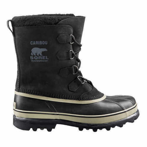 autentico online NWOB NWOB NWOB SOREL Uomo CARIBOU Waterproof stivali nero  per offrirti un piacevole shopping online