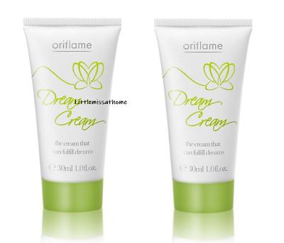 2 X Oriflame Dream Mini Hand Cream Glycerin Almond Oil Vitamin E