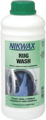 Devoto Nikwax Rug Wash-cavallo X 1 Lt Equestre Pet Indumento Più Pulito-