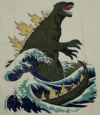 """Great Monster Off Kanagawa"" Godzilla Kaiju King of Monsters Men's Medium Shirt"