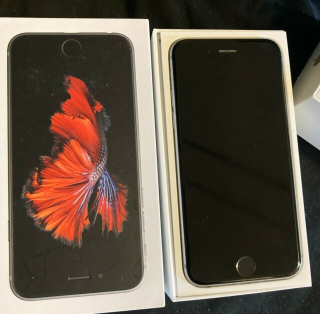 Apple iPhone 6s 16GB Space Grey Unlocked A1633 (CDMA GSM) Excellent With Box!!