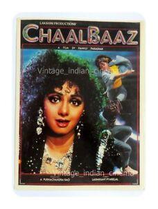 Chaalbaaz-1989-Sunny-Deol-Sridevi-Rajnikant-Bollywood-PressBook-Vintage-Booklet