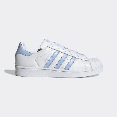 NEU Adidas Originals Damen Superstar weißblau ef9247 uns w5 11 takse | eBay