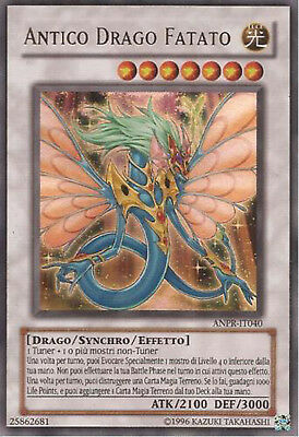 Antico Drago Fatato ® Ultra Rara ® LCKC-IT070 ® Italiano ® Errecards