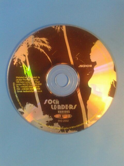 Various Artists : Soca Leaders CD (2002). Disc Only.