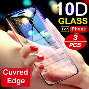 10D-Curve-For-iPhone-X-XS-MAX-XR-Full-Cover-Real-Tempered-Glass-Screen-Protector