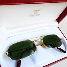 occhiali da sole le must de CARTIER sunglasses oro gold Louis lunette oval round