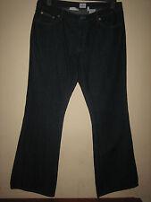 RR21) WOMENS CALVIN KLEIN BOOTCUT BLUE JEANS ZIP FLY  WAIST 30  LEG 31