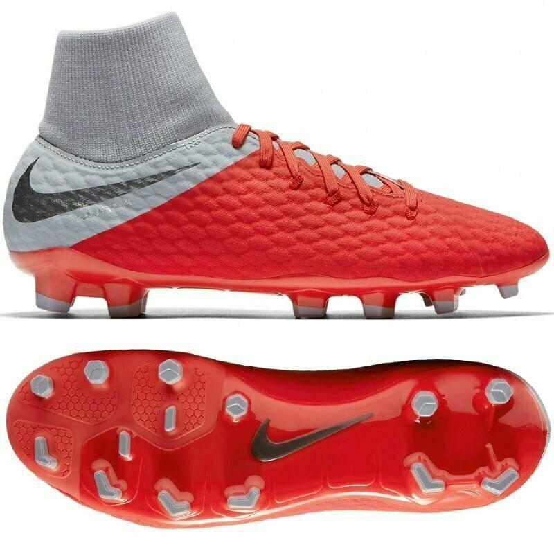 Nike Hypertvist 3 Academy DF FG Storlek 10 män Soccer Soccer Soccer Cleats AQ9217 -600  90  grossistpriser