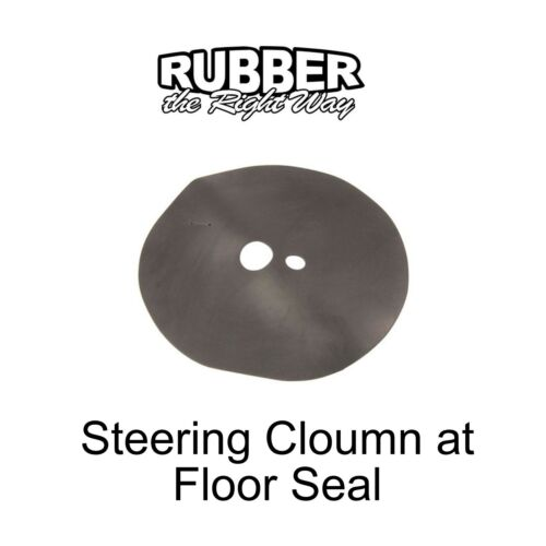 1955 1956 Ford Steering Column at Floor Seal