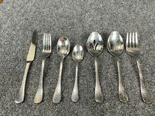 Ginkgo LAFAYETTE Stainless Hammered Glossy Silverware CHOICE PC Flatware 20-1175
